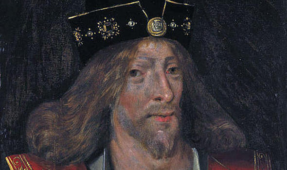 The Assassination of King James I of Scotland King_james_i_of_scotland-close-up