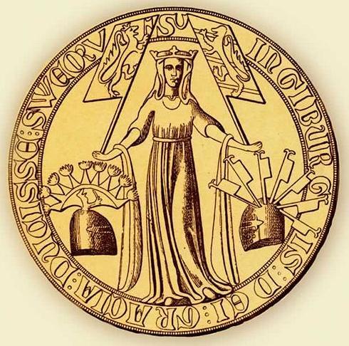 A bit of Norwegian medieval history:  All These Ladies Named Ingeborg Ingeborghc3a5kansdottersealcrop