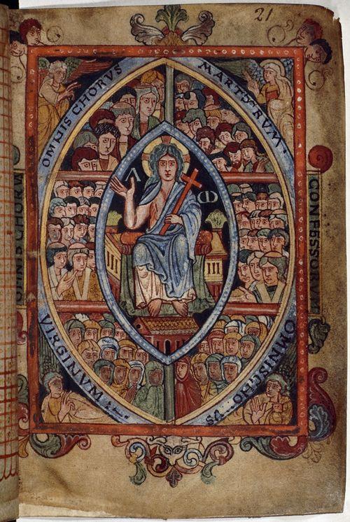 Saint Eadburh Aethelstan-psalter