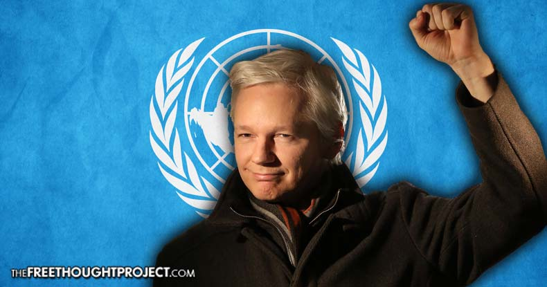 BREAKING: UN to Free Assange, Final Ruling Says 'Arbitrary Detention' Must End Wikileaks-free-assange