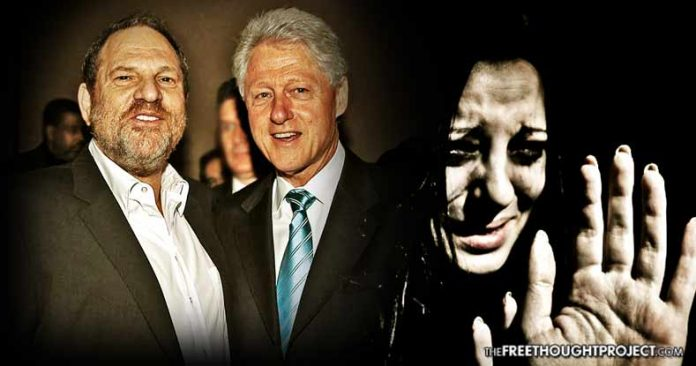 They're All In It Together – Weinstein Paid for Bill Clinton's Legal Fees During His Sex Abuse Scandal Clintonweinstein-696x366