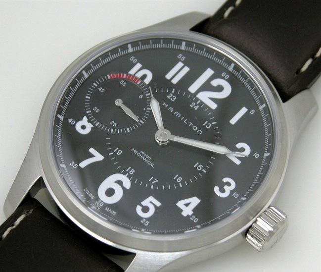 Aide ! Une montre type militaire à bas prix Hamiltonrecto