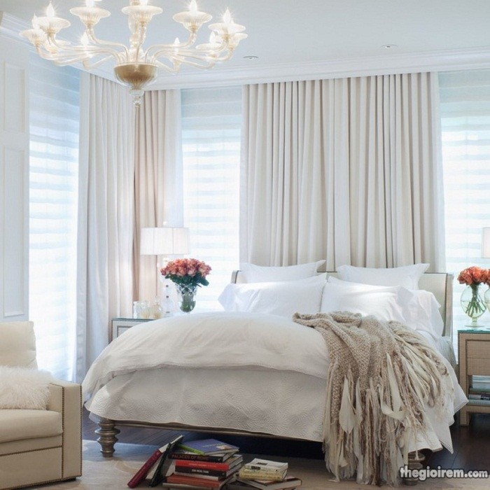 Lắp đặt rèm cửa đẹp giá rẻ chung cư FLC Green Home Ngu_trang