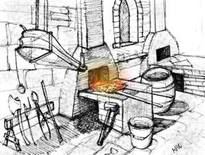 The Blacksmith Forge Blacksmith_m