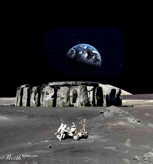 The United States of the Solar System, A.D. 2133 (Book Eight) - Page 2 Stonehenge-moon2
