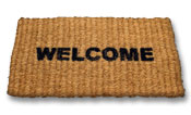 The Greater Picture Welcome-mat