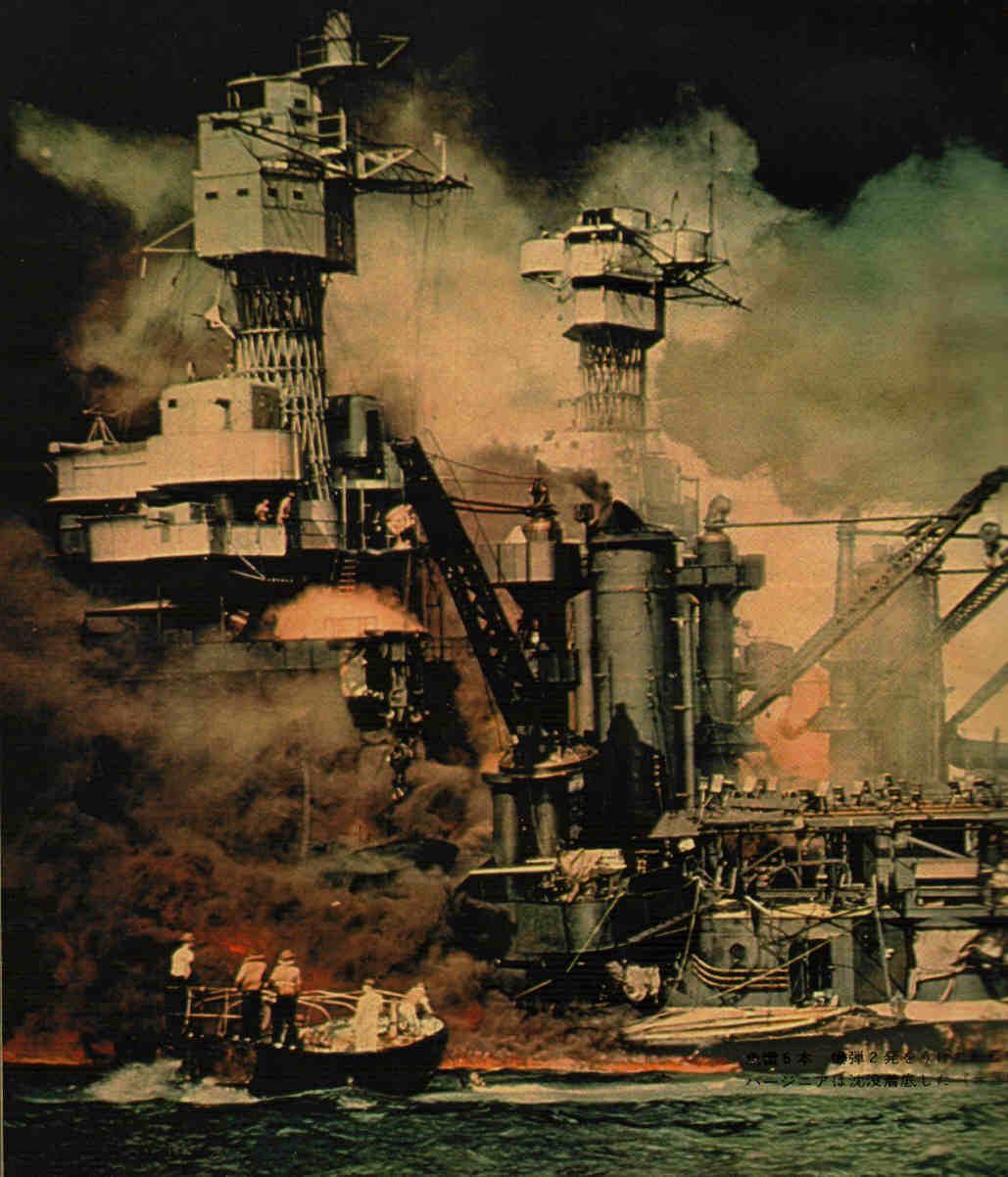 Segunda Guerra Mundial: Ataque a Pearl Harbor Pearl-harbor