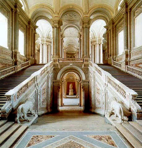Pasillos del Palacio Real Caserta