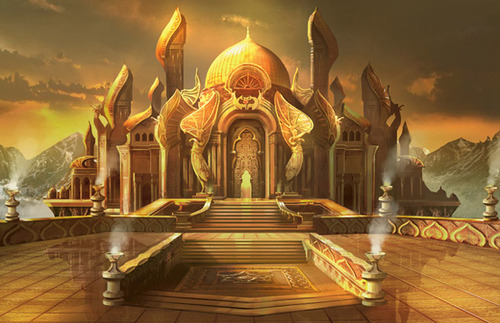 Al-Haikk, the City of Thieves Modern-masters-art