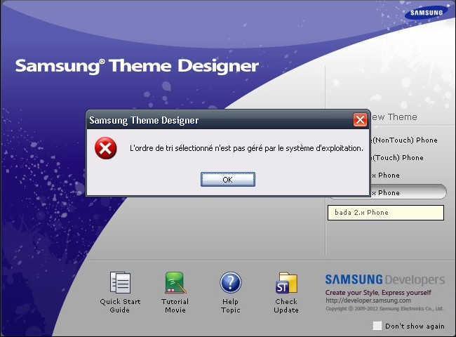 STD 2.0.3 incompatible avec Windows XP STD232