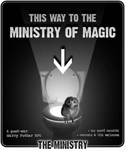 The Ministry - HP, Post Deathly Hallows, No WC Toilet-ministry-ad