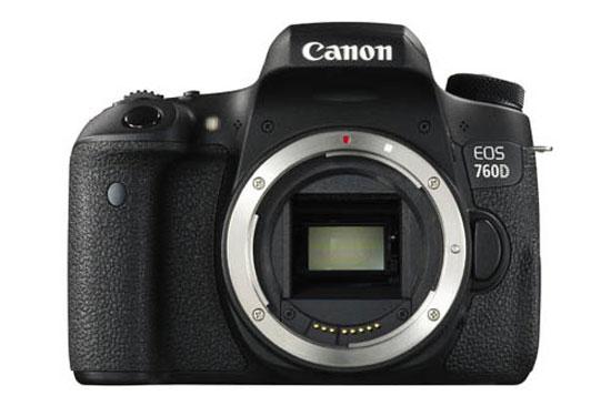 Sorties des nouveaux DSLR Canon Canon-760D-front-image