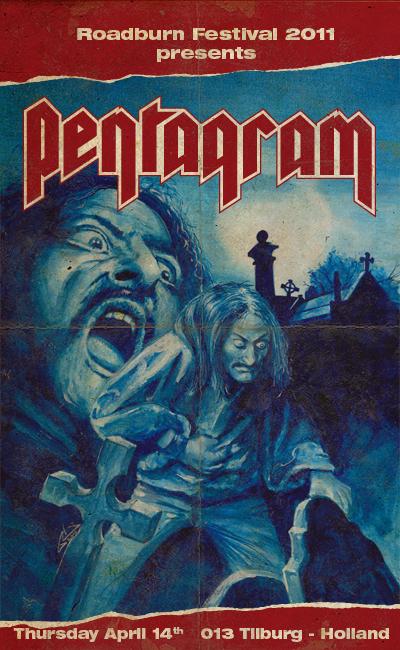 PENTAGRAM,POR FIN EN ESPAÑA!!! - Página 3 Pentagram-Roadburn-Festival-2011