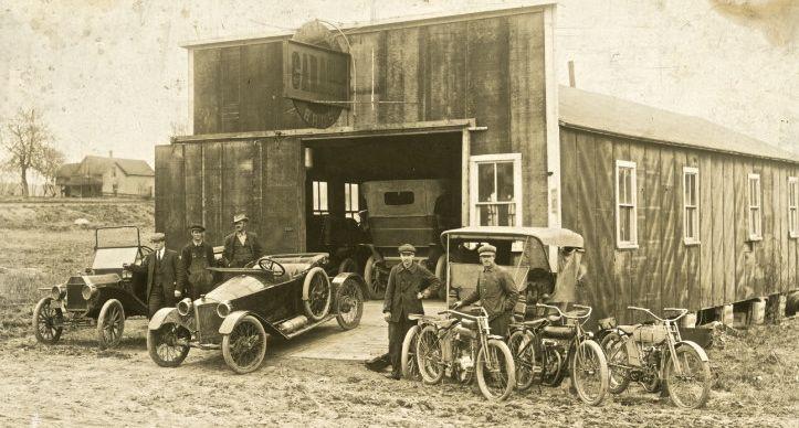 Garages anciens M1