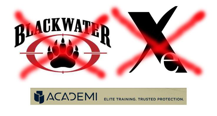 Etats - Des citoyens Américains expliquent pourquoi le monde déteste les Etats-Unis Blackwater_xe_academi_logo