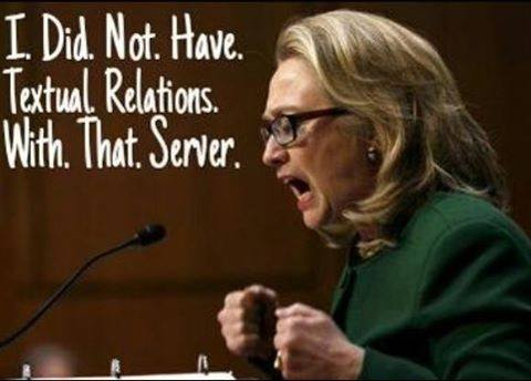 Political Memes Meme-Hillary-I-Did-Not-Have-Textual-Relations-With-That-Server-Lars-Larson