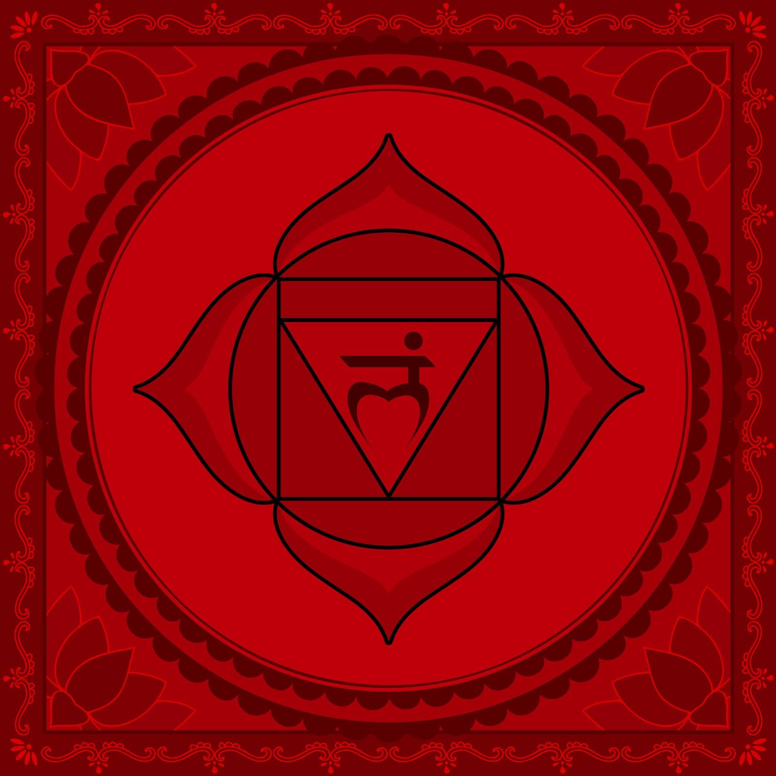 Affirmations à réciter (matin et soir) pour l'équilibrage de l'énergie de vos chakras Root-chakra1