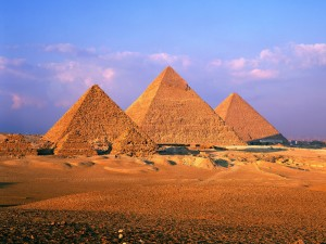 Theoretically, We Are Crystal Beings. Here's Why: Pyramids_of_Giza-300x225