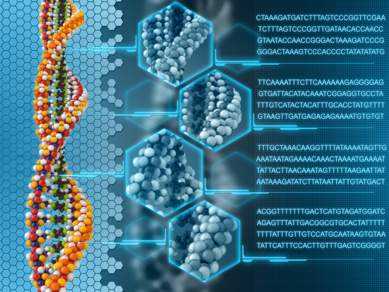 Scientists Discover That DNA Can Be Reprogrammed With Words And Frequencies Dna-molecule-2