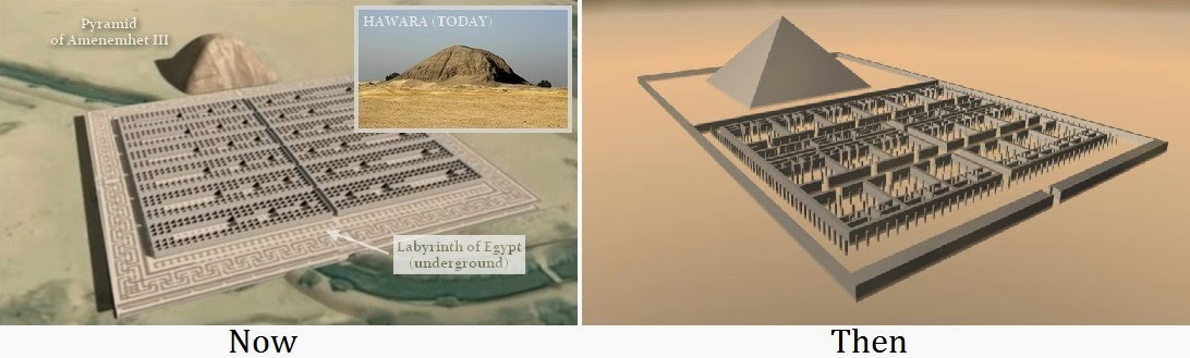 This Ancient Underground City In Egypt is Being Kept Hidden From The Outside World 123456Hawara-labyrinth