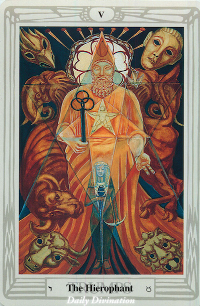 'Lunar Eclipse 23 March 2016' – 4 hours and 15 minutes on Wednesday morning 0018-Hierophant
