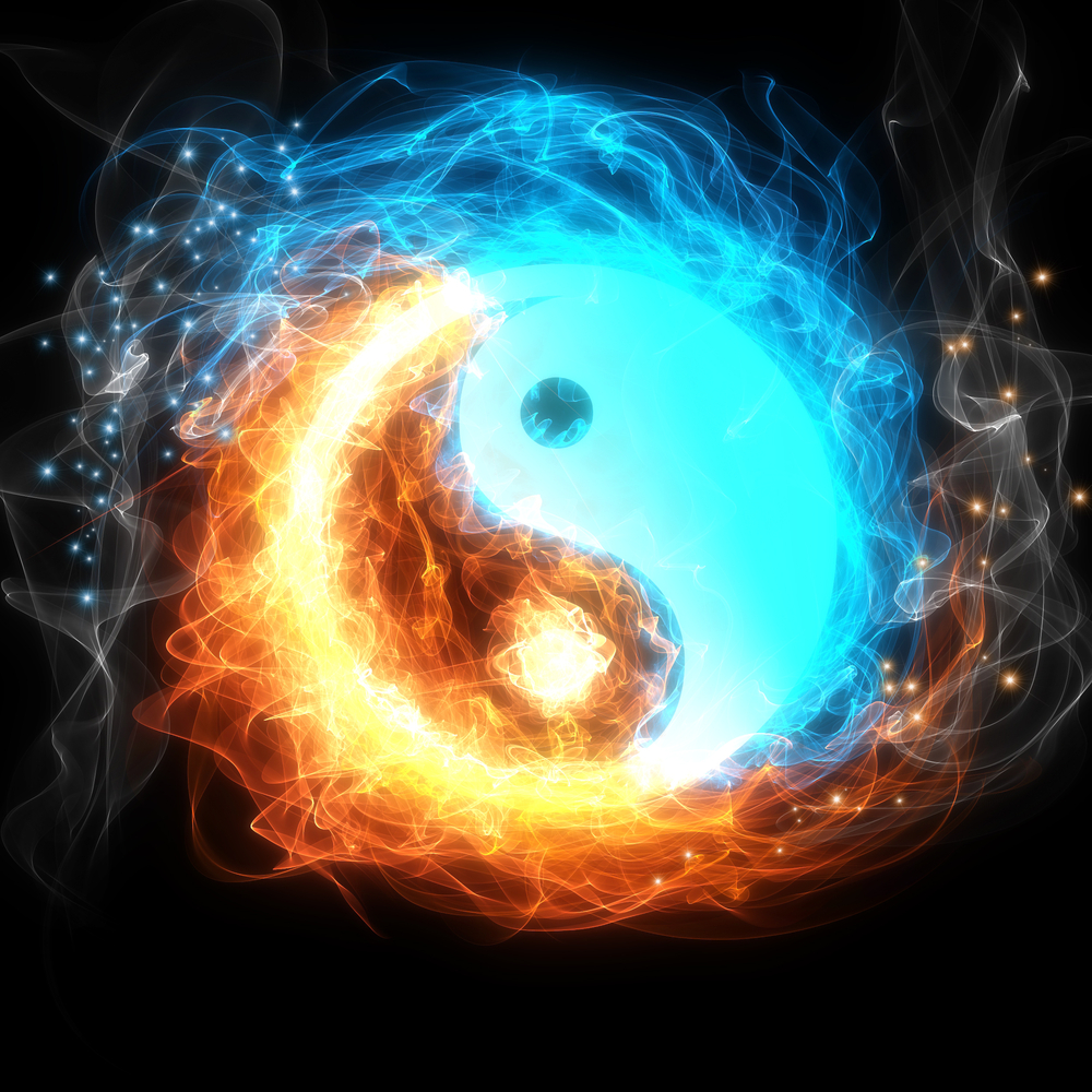 The Creation Story for Lightworkers Yin-yang