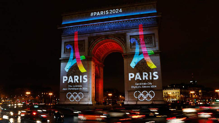 Paris, France to host 2024 Summer Olympic Games, Los Angeles, USA to host in 2028 Paris2024_Its_Nice_That