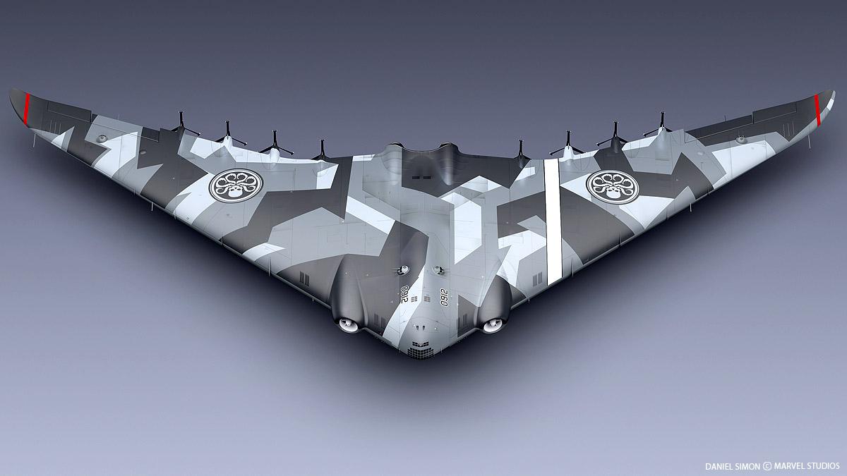 Arado 555 1/72 un Dodo taillé pour le froid! 08-Hydra-Flying-Wing