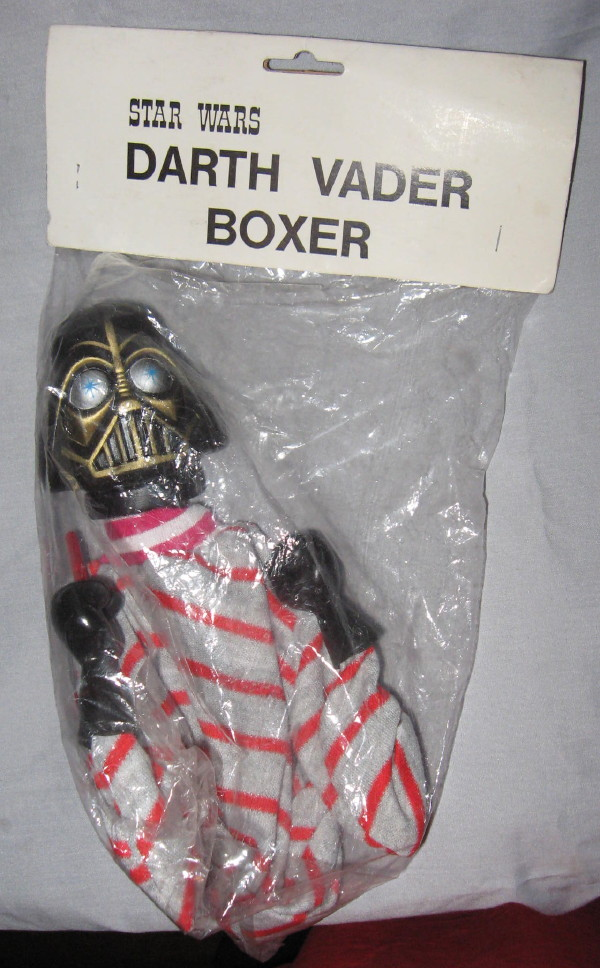 *** Your SW Oddball Pictures Here *** - Page 3 BoxerVader