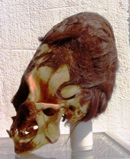 These Ancient Elongated Skulls Are NOT HUMAN Elongated-Skull-Peru-Red-Hair-450x549