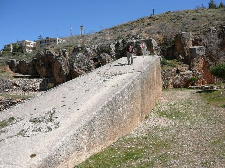 Baalbek Lebanon: Megaliths Of The Gods Baalbek-Stone-450x337