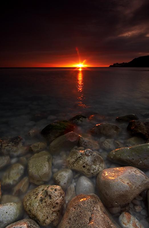Zalazak sunca-Nebo Amanecer