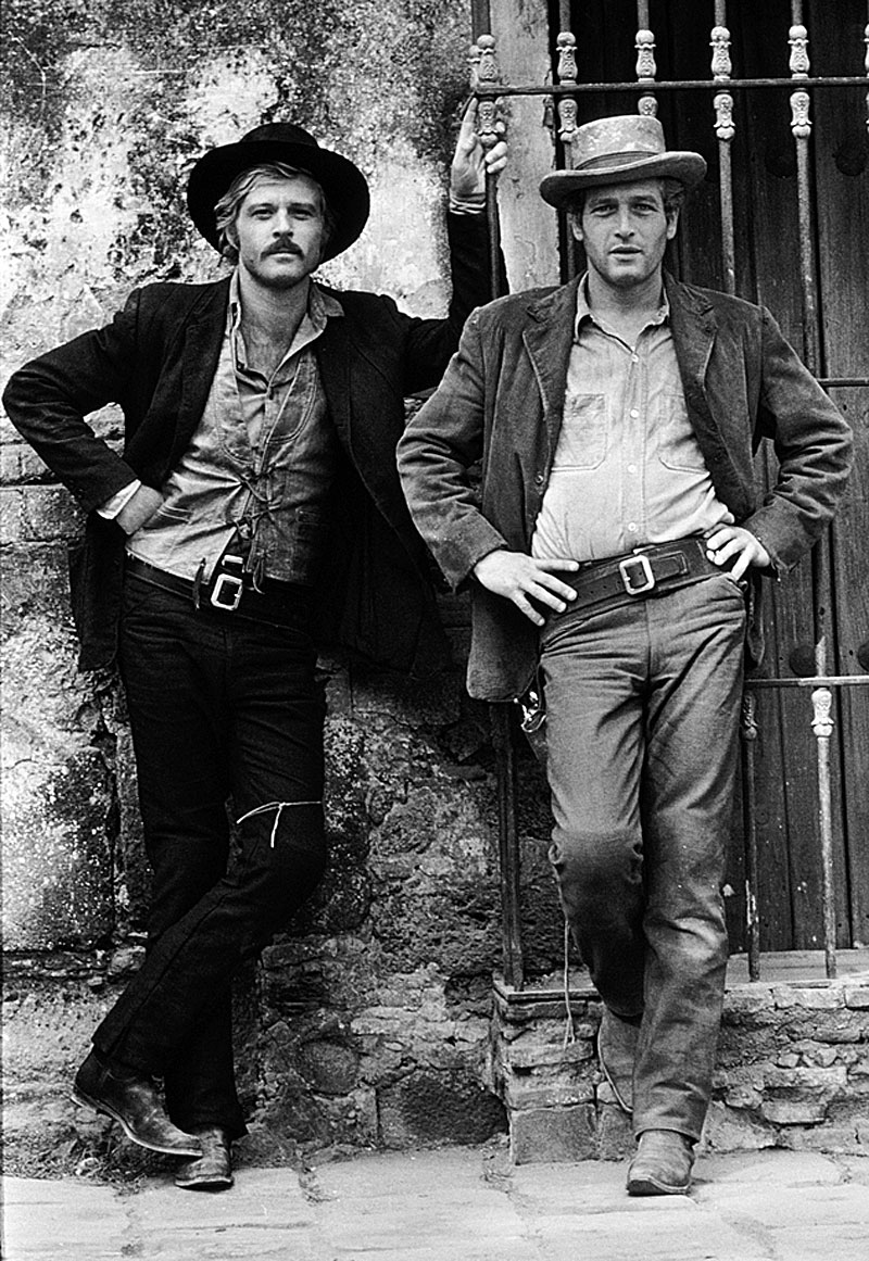 Paul Newman Butch-Cassidy-and-the-Sundance-Kid-Robert-Redford-and-Paul-Newman