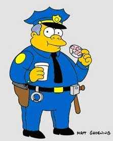 MY THEORY: When you have eliminated the impossible, whatever remains, however improbable, must be da troot - Page 9 Chief-wiggum