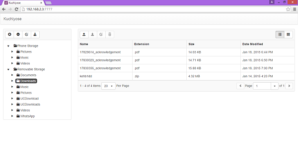Transfer files from Windows Phone to Windows PC using WiFi Kuchiyose-600x319