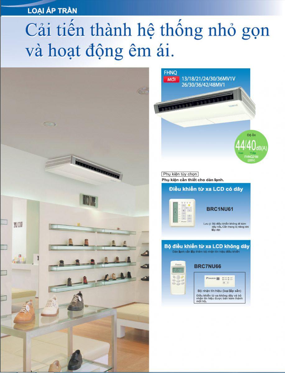 Chuyên thi công máy lạnh áp trần Daikin dòng thương mại SkyAir cho phòng GYM Lanh_ap_tran_daikin_fhnq