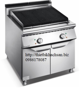 bếp nướng than đá nhân tạo liền tủ F9080ELC_1