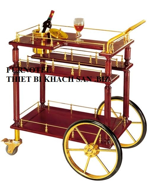Nội, ngoại thất: Xe đẩy Liquor trolley Z-26