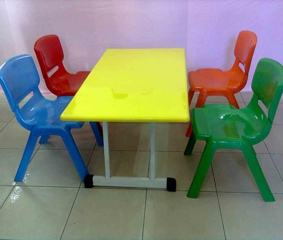 Nếu chọn bàn ghế trong lớp cho trẻ mầm non, hãy nắm 2 nguyên tắc này Chu-y-chon-bang