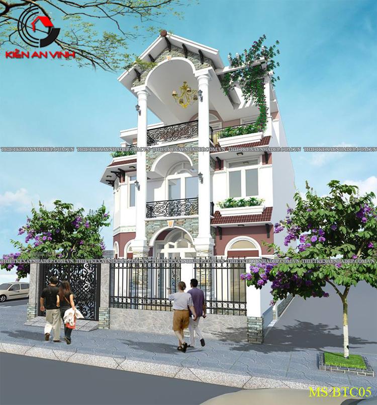 Mẫu thiết kế biệt thự 2 tầng Vincom Village đẹp diện tích 150m2 Thiet-ke-biet-thu-dep-3