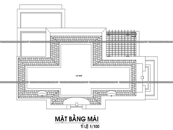 Mẫu thiết kế biệt thự 2 tầng dt 250m2 hiện đại đẹp tại Quảng Ngãi Tang-mai