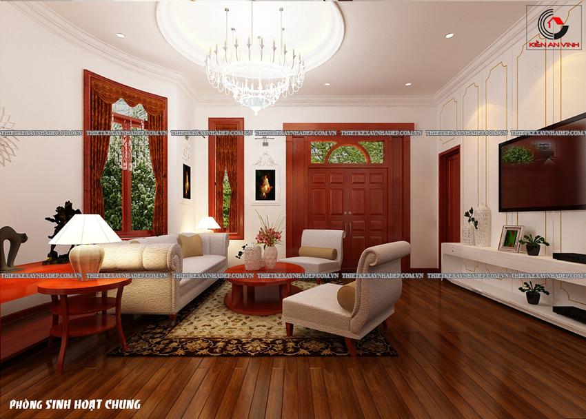 Mẫu thiết kế biệt thự nhà vườn 1 tầng hiện đại diện tích 150m2 Phong-shc-1