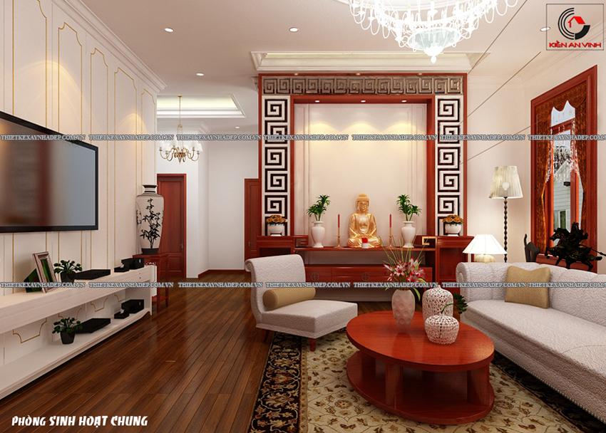 Mẫu thiết kế biệt thự nhà vườn 1 tầng hiện đại diện tích 150m2 Phong-shc-2