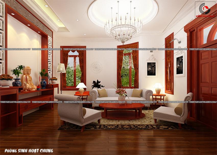 Mẫu thiết kế biệt thự nhà vườn 1 tầng hiện đại diện tích 150m2 Phong-shc-3