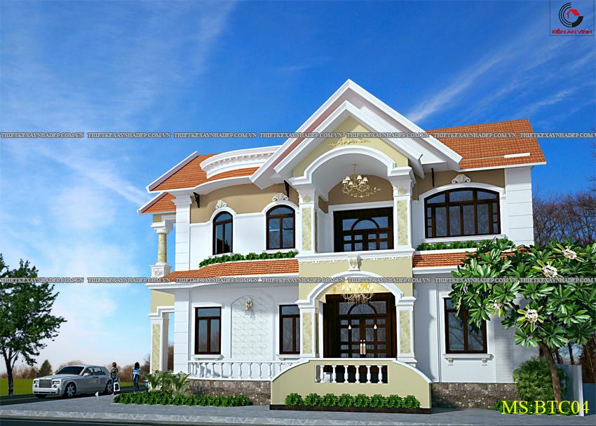 Mẫu thiết kế biệt thự nhà vườn 1 tầng hiện đại diện tích 150m2 Thiet-ke-biet-thu-1-tang-dep-2