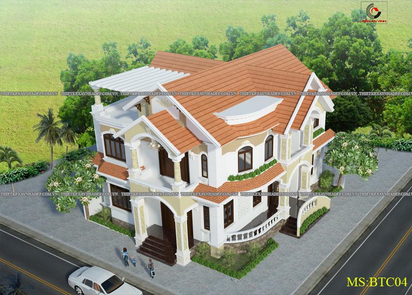 Mẫu thiết kế biệt thự nhà vườn 1 tầng hiện đại diện tích 150m2 Thiet-ke-biet-thu-1-tang-dep-4