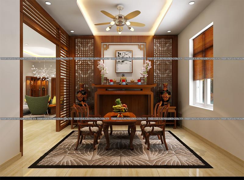 Mẫu thiết kế biệt thự 2 tầng đẹp hiện đại diện tích 120m2 Phong-tho-2