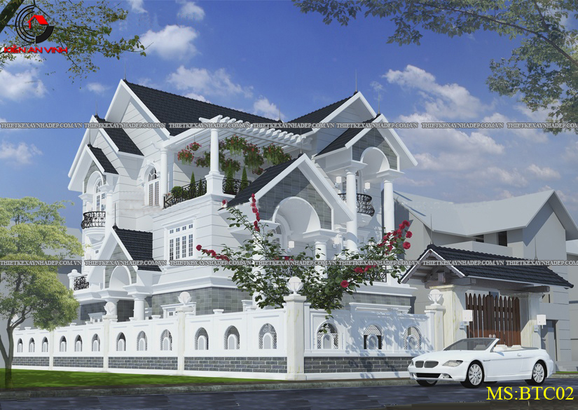 Mẫu thiết kế biệt thự 2 tầng đẹp hiện đại diện tích 120m2 Thiet-ke-biet-thu-1-tang-1
