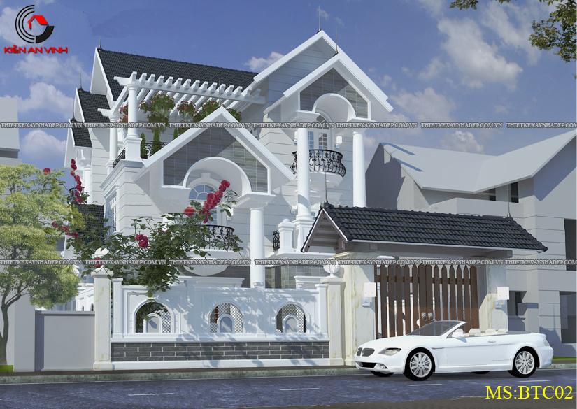 Mẫu thiết kế biệt thự 2 tầng đẹp hiện đại diện tích 120m2 Thiet-ke-biet-thu-1-tang-2