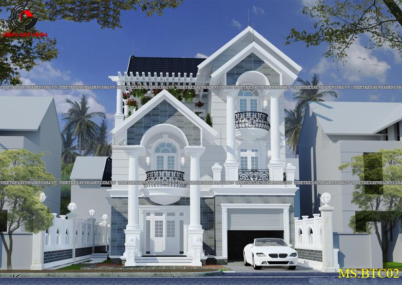 Mẫu thiết kế biệt thự 2 tầng đẹp hiện đại diện tích 120m2 Thiet-ke-biet-thu-1-tang-3